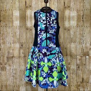 ⛱Floral Purple Dress SZ 14